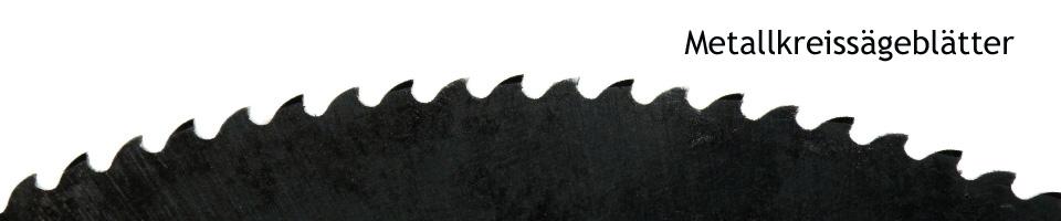 Metallkreiss�gebl�tter f�r Kaltkreiss�gen